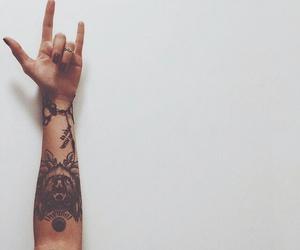tattoo, rock, and tatto image