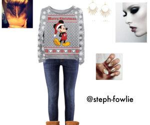 christmas, clothes, and disney image