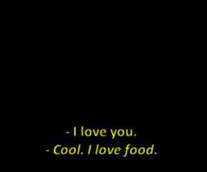 love, food, and cool image