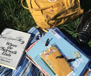 yellow, book, and indie image