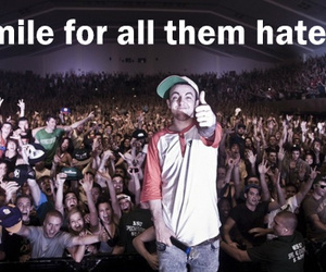 haters, smile, and mac miller image