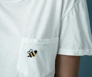 bee, fashion, and shirt image