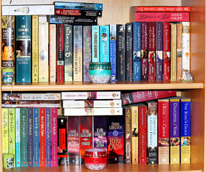 bookcase, books, and collection image