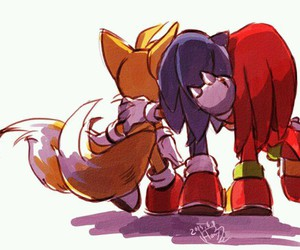 Sonic the hedgehog and miles tails prower image