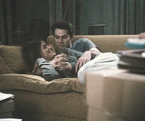 teen wolf, stalia, and couple image