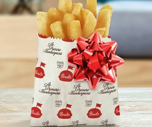 food, French Fries, and gift image