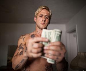 ryan gosling, money, and movie image