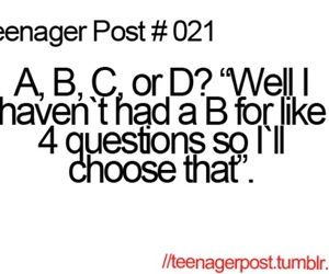 teenager post, funny, and test image