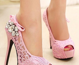 adorable, fashion, and pink heels image