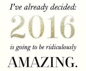 2016, amazing, and happy new year image