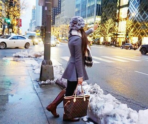 fashion, Louis Vuitton, and winter image