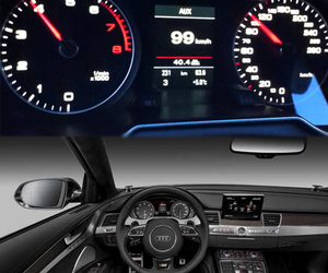 engine, audi a4, and mmi interface image