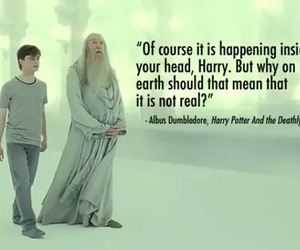 harry potter, quote, and albus dumbledore image
