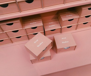pink, acne studios, and aesthetic image