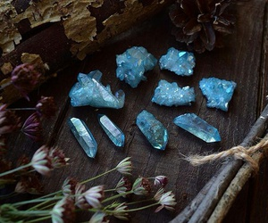 aura, crystals, and witchcraft image