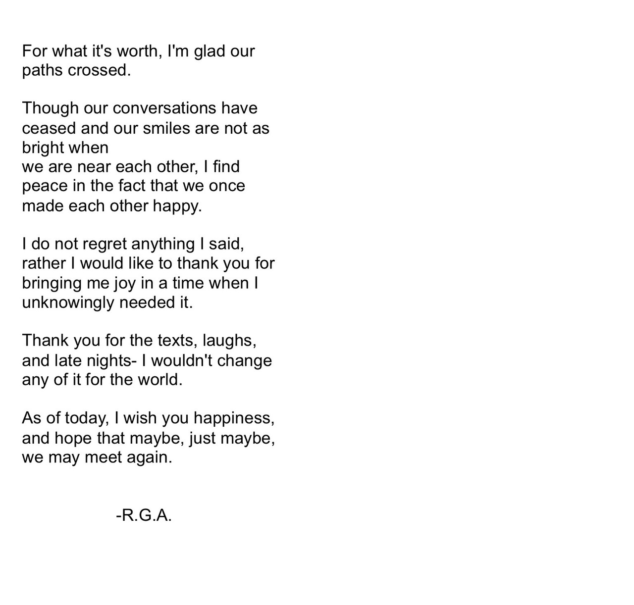 thank you and goodbye for now this is something i just put