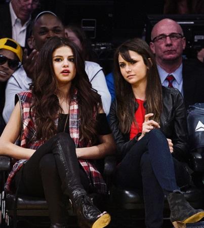Nina Dobrev Selena Gomez On We Heart It