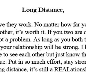 long distance and Relationship image
