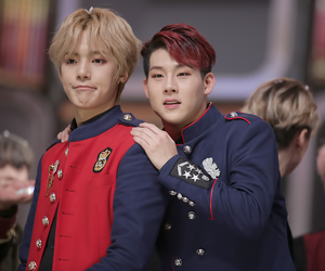minhyuk, jooheon, and monstax image