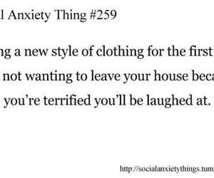anxiety, social anxiety, and fear image