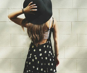 dress, style, and hat image