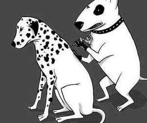 dog, tattoo, and funny image