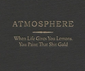atmosphere, gold, and lemons image