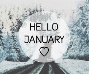 january, winter, and 2016 image