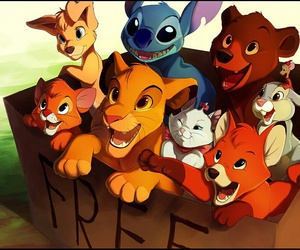 disney, stitch, and animal image