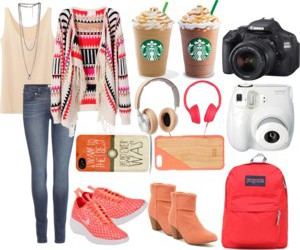 fashion, Polyvore, and trip image