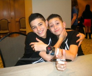 Nick Mara, iconic boyz, and mikey fusco image