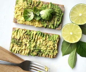 avocado, food, and FRUiTS image