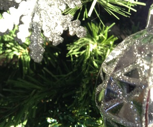 argent, christmas, and sapin image