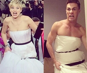 funny, Jennifer Lawrence, and colton haynes image