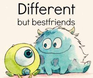 best friends and different image