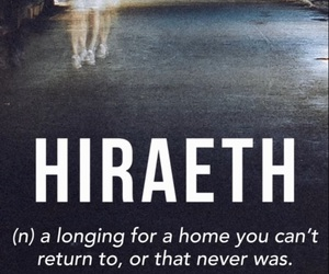 home and hiraeth image