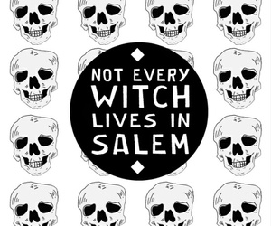 background, salem, and witch image