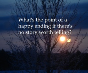 nature, quote, and happy ending image