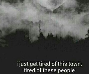 black, city, and quotes image