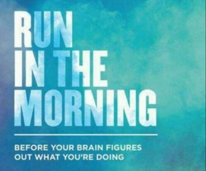run, morning, and fit image