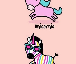 unicorn, zebra, and colors image