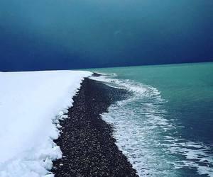 winter, Georgia, and sea image