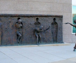 art, freedom, and sculpture image