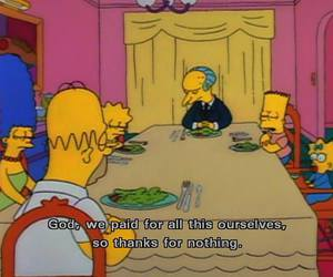 simpsons, funny, and the simpsons image
