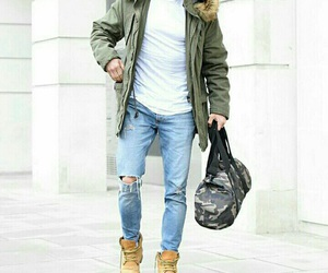 fashion, jeans, and man image