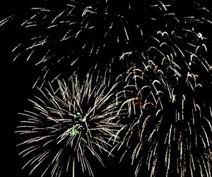 2016, fireworks, and happy image