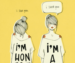 girl, liar, and honest image