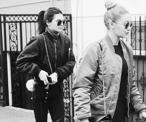 kendall jenner, gigi hadid, and fashion image