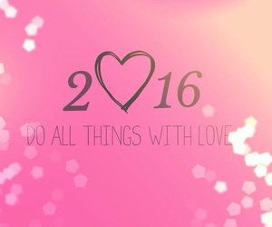 2016, new year, and love image