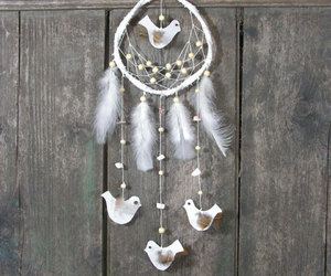 bedroom, dream catcher, and etsy image
